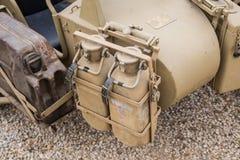 Forças armadas do side-car foto de stock