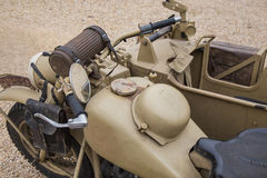 Forças armadas do side-car fotografia de stock