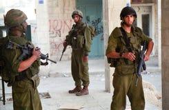 Forças armadas israelitas Imagem de Stock