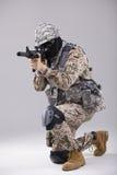 Forças especiais Fotografia de Stock Royalty Free