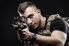 Forças especiais do delta Fotografia de Stock Royalty Free