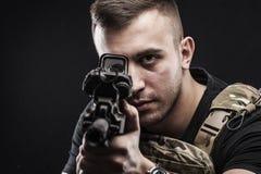 Forças especiais do delta dos EUA Foto de Stock