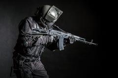 Forças especiais do russo Foto de Stock Royalty Free