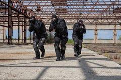 Forças especiais na ação Foto de Stock