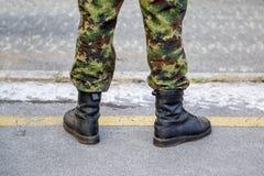 Forças militares Imagem de Stock