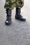 Forças militares Foto de Stock
