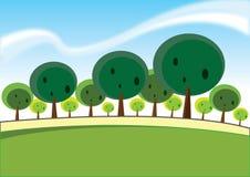 Forêt illustration libre de droits