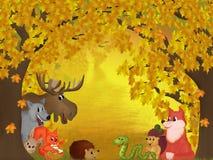 Forêt d'automne Photos libres de droits