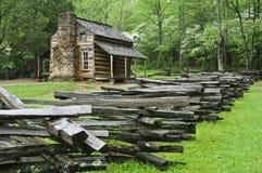 forêt de cabine Photographie stock libre de droits