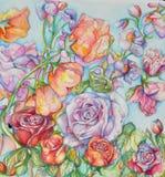 Forêt de fleurs image stock