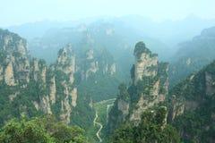 Forêt de roche Image libre de droits