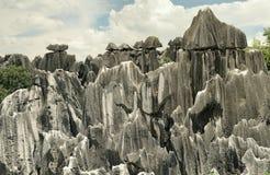 Forêt en pierre, Yunnan, Chine Image libre de droits