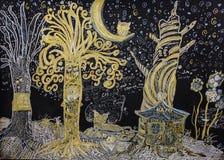 Forêt enchantée illustration libre de droits
