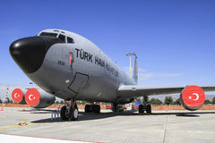 Força aérea turca KC-135 Fotografia de Stock