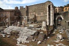 Fora av Augustus, Rome arkivbild