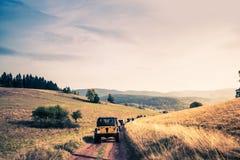 Fora da aventura da fuga da estrada Imagens de Stock Royalty Free