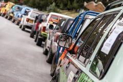 Fora da competência de estrada Imagem de Stock Royalty Free