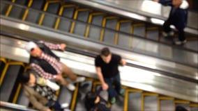 Fora da escada rolante do foco filme