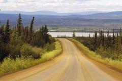 Fora da estrada em Alaska Fotos de Stock Royalty Free