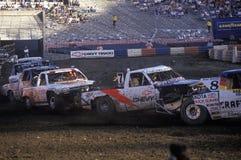 Fora das competições automóveis em Rose Bowl em Pasadena, Califórnia Imagens de Stock Royalty Free