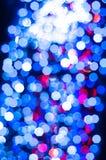 Fora das luzes do foco Fotografia de Stock
