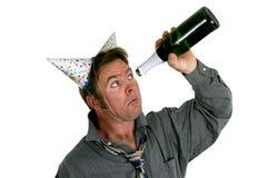 Fora de Champagne Fotos de Stock Royalty Free