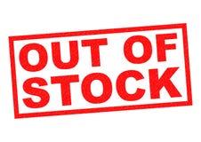 FORA DE ESTOQUE Imagem de Stock Royalty Free