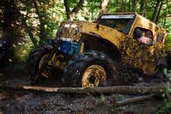 Fora do caminhão da estrada na competição Imagem de Stock