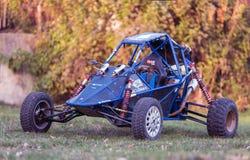 Fora do carro com erros da estrada Modelo Buggy Barracuda imagens de stock royalty free