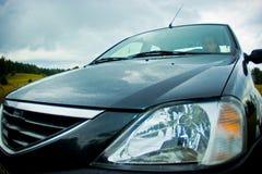 Fora do carro da estrada foto de stock royalty free