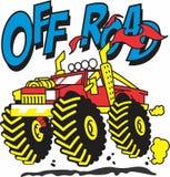 Fora do carro da estrada para meninos projete ilustração do vetor