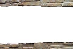 Força do granito da laje de cimento do fundo da parede de pedra forte Foto de Stock Royalty Free