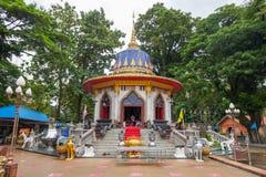 Fora do monumento principal do rei Taksin Imagens de Stock