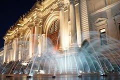 Fora do museu de arte metropolitano 100 Fotografia de Stock