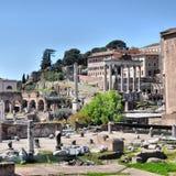 fora roman rome royaltyfria bilder