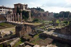 fora roman rome Arkivfoton