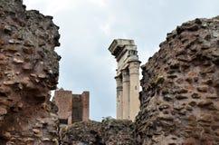 fora roman rome fördärvar Royaltyfri Foto