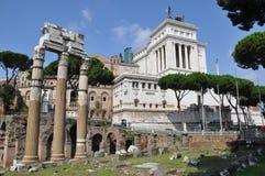 Fora Romanum Arkivbild