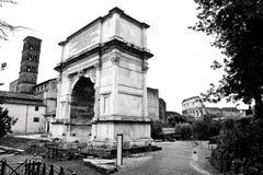 fora rome Arkivbilder