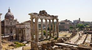 fora rome arkivbild
