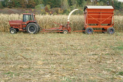 Forage harvester Royalty Free Stock Image