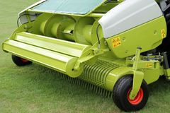 Forage Harvester. Stock Image