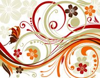 Foral abstraction Stock Photos
