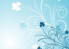 Foral background, vector Royalty Free Stock Photo
