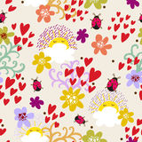 Foral seamless pattern in vector Stock Photography