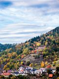 Forbach hillside - Black Forest royalty free stock photos