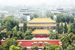 Forbbidden miasto (w Pekin) Fotografia Stock