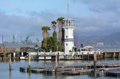 Forbes Island in Fisherman Wharf San Francisco CA Royalty Free Stock Photo