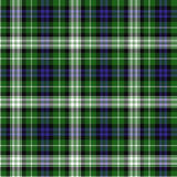 Forbes tartan. The Forbes dress clan tartan is worn for dances and formal social events Royalty Free Stock Image