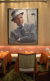 Forbes Travel Guide Four-Star Sinatra Restaurant Interior at Encore Las Vegas Casino Stock Photo